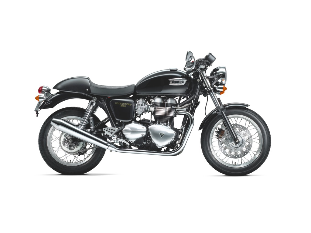 Thruxton Phantom Black