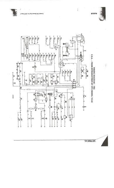 triumph tr6 wiring diagram on 1973 triumph tr6 wiring diagram