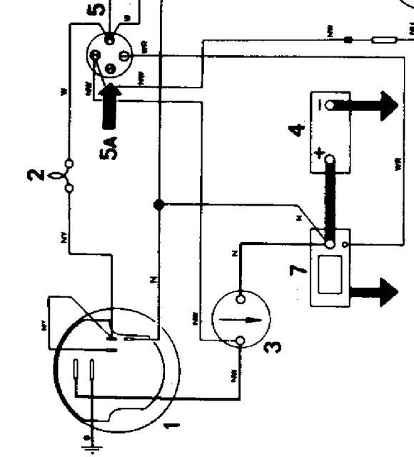 triumph stag alternator wiring diagram