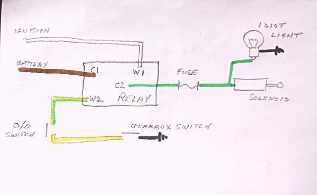 Austin Healey Overdrive Wiring Diagram - GO Wiring Diagram