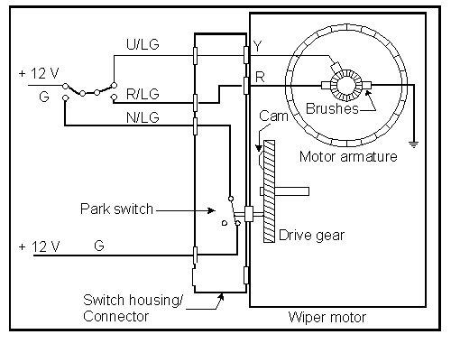 lucas wiper motor wiring diagram on triumph spitfire wiring diagram