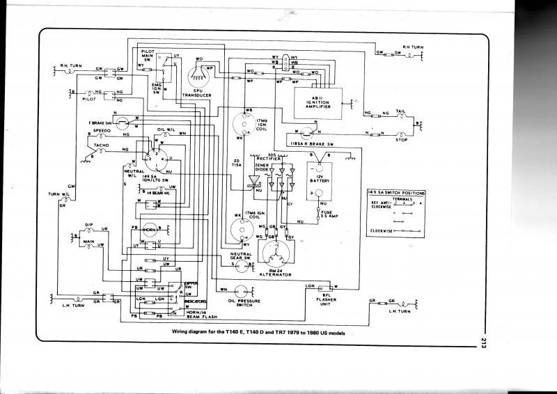 lucas rita electronic ignition wiring diagram