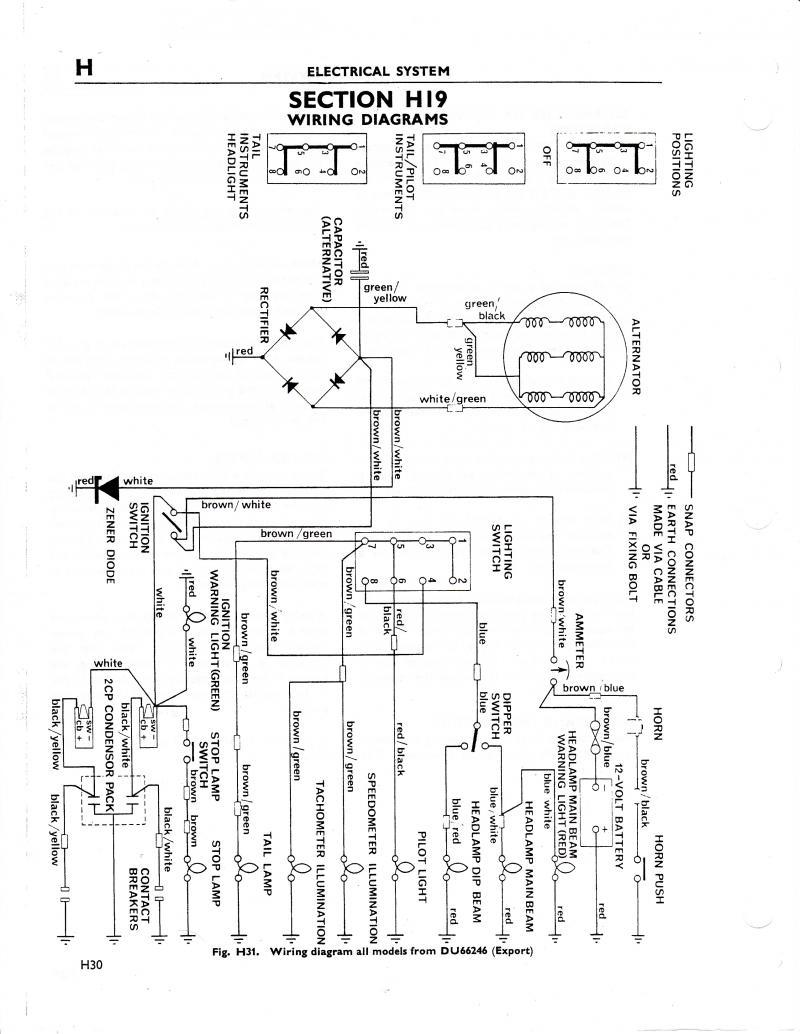 quick basic wiring page 2 triumph forum triumph rat motorcycle