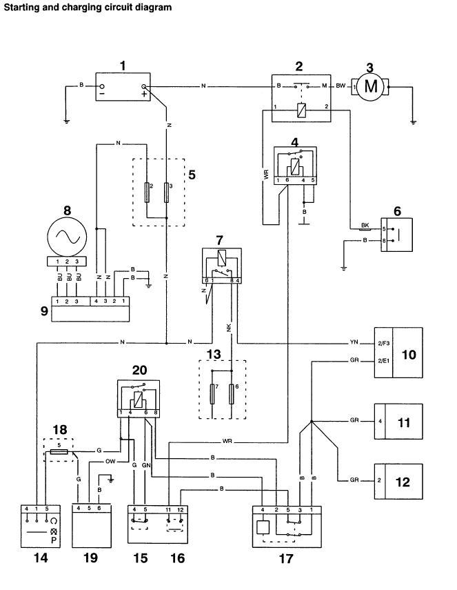 blue black 3 wire headlight wiring diagram