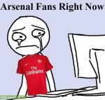 Arsenal Fans Right Now Meme