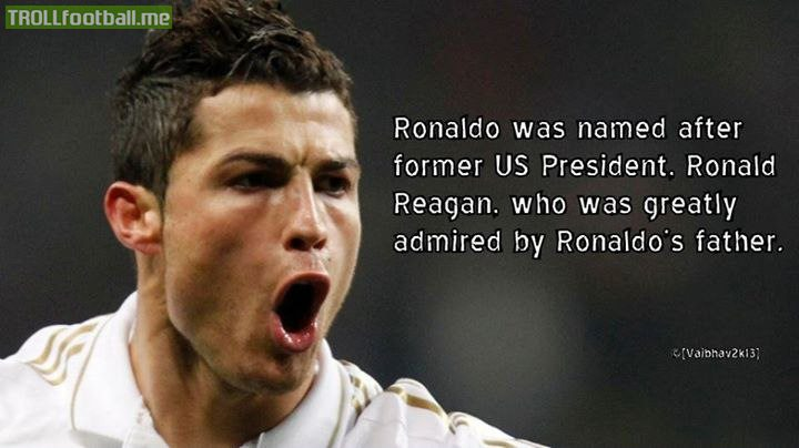 Motivational Football Quotes Wallpaper Fact Cristiano Ronaldo Was Named After Former Us
