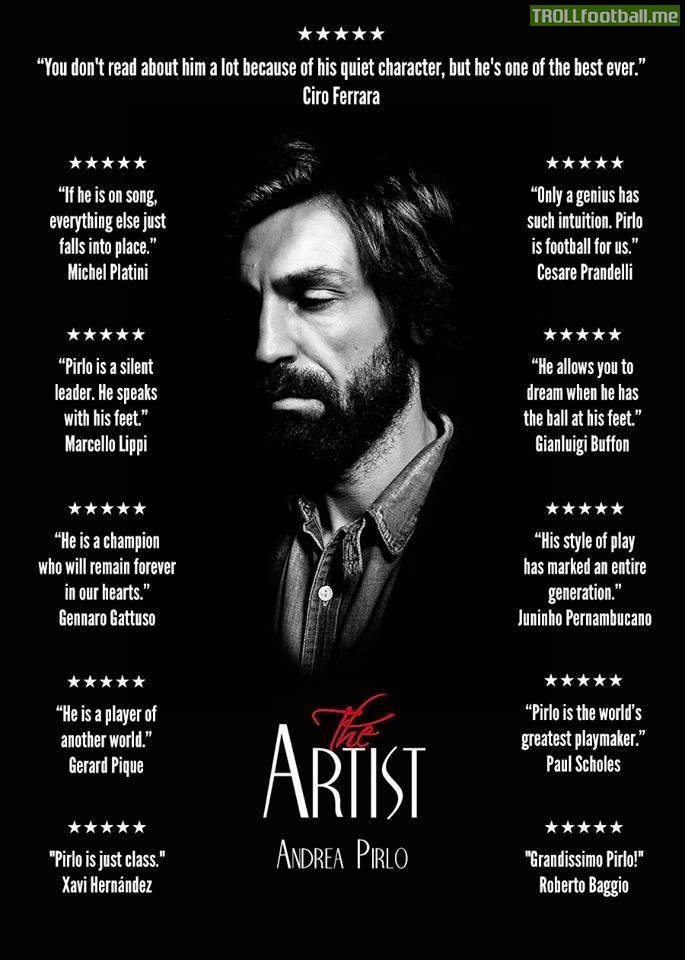 Steven Gerrard Quotes Wallpaper Quotes On The Artist Andrea Pirlo Troll Football