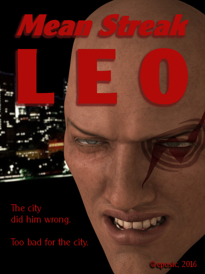 Fake Book Cover Art – Mean Streak Leo