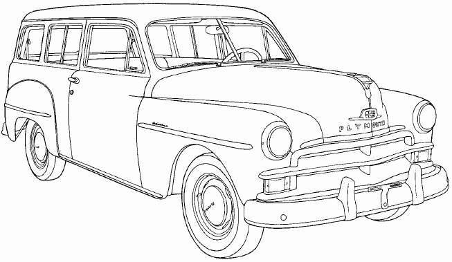 1945 plymouth station wagon