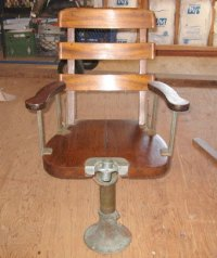 Vintage Fish Fighting Chair