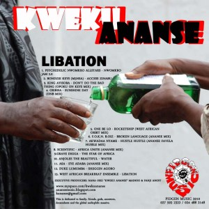libation back 300x300 Kweku Ananse   Libation! Free Album