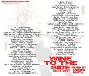 WineToTheSideBACKWEB 300x256 Soca Monarch 2011 and a Mix