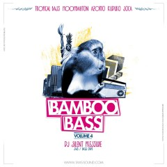 MixCover1 Berlin Tropical night: Bamboo Bass Vol. 4