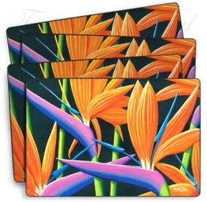 4 pack of Floral Placemats