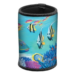 Parrot Fish Can & Stubby Cooler