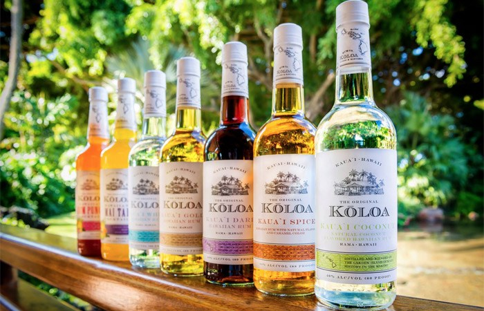 Enjoy Free Rum Tastings at Koloa Rum Co. in Kauai