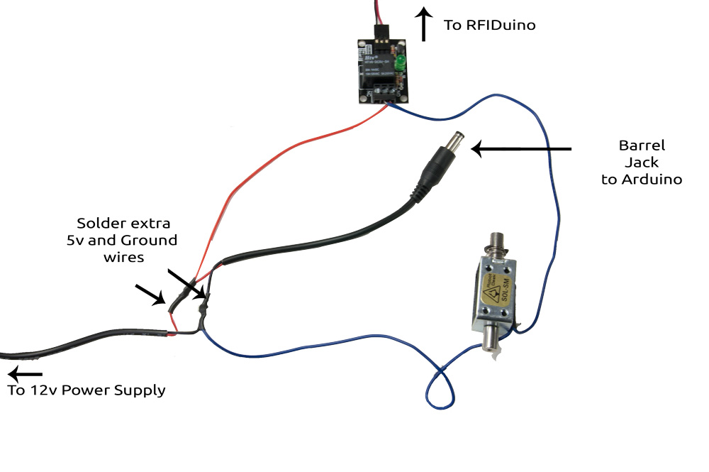 barrel jack wiring diagram output