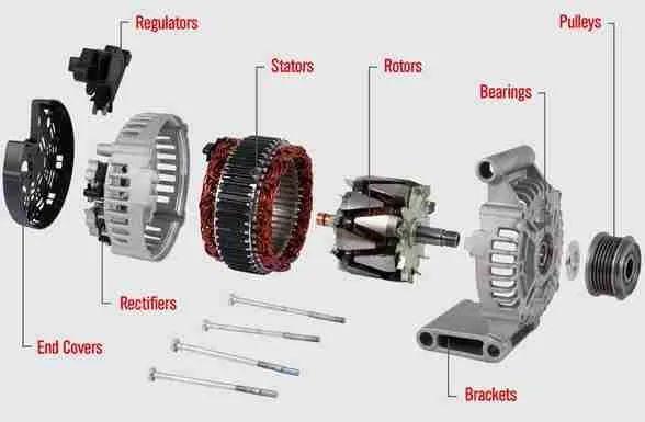 alternator light wiring