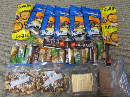 Supplies for Milford Track