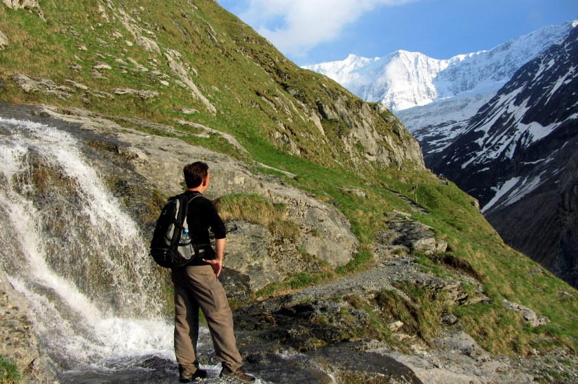 waterfalls in grindelwald