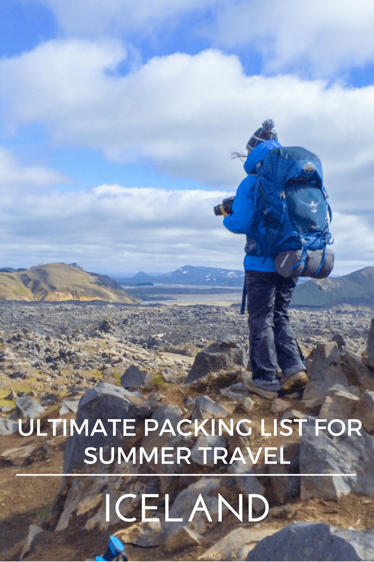 Ultimate Packing List for Iceland