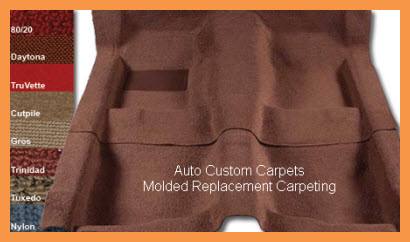 Auto Custom Carpets Makes Replacement Carpet And Floor