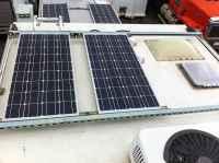 Solar Panel Roof Rack Installation