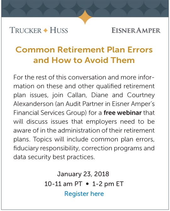 Common Issues Discovered During Retirement Plan Audits A Discussion - retirement programs