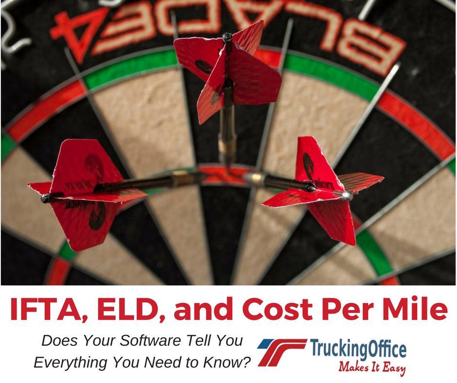ELD, IFTA and Costs per mile TruckingOffice