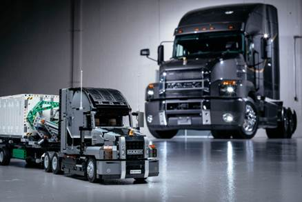 Lego reveals new Mack Anthem Technic set - Truck News