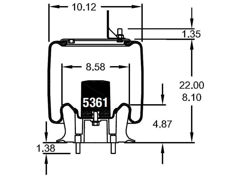 firestone air bag diagram