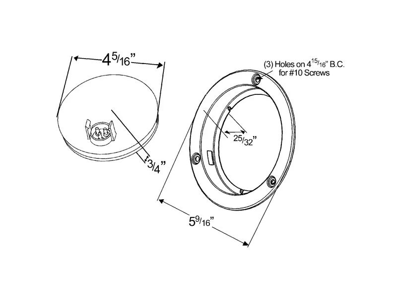grote tail light wiring diagram 53302