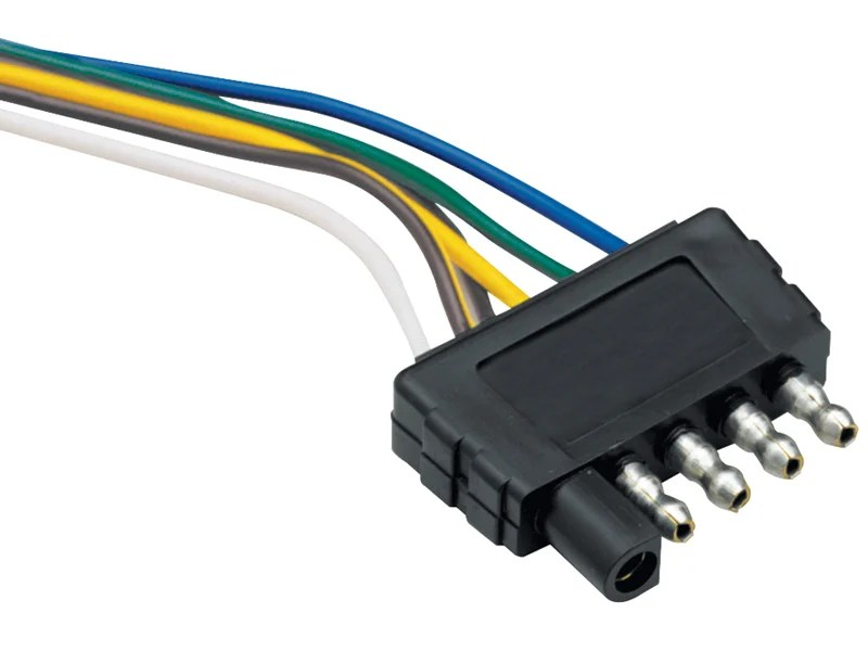 5-Way Flat Wire Harness - Trailer End, 118017