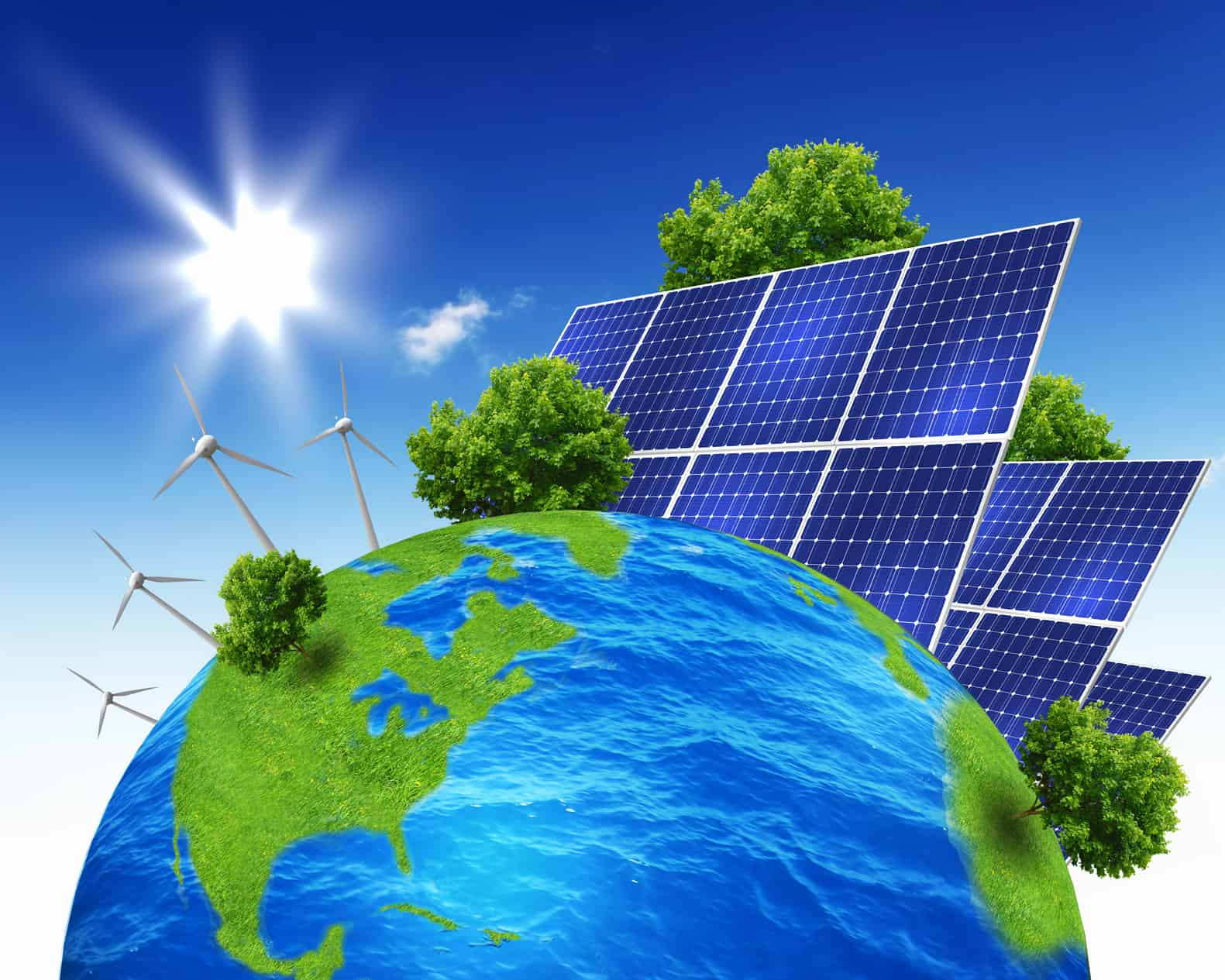 Usage Of Solar Energy In Environmental Service Spirit