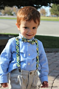 Every Little Boy Needs Suspenders | True Aim