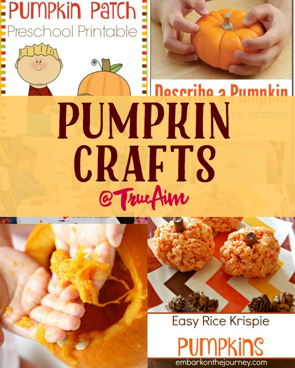 Pumpkin Crafts and Mom\u0027s Library #162 True Aim