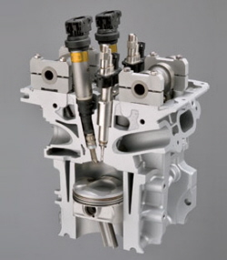 BMW 3.0-liter DI twin-turbo six