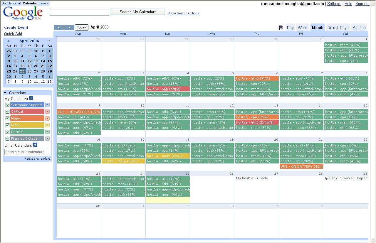 Фоны для календаря гугл