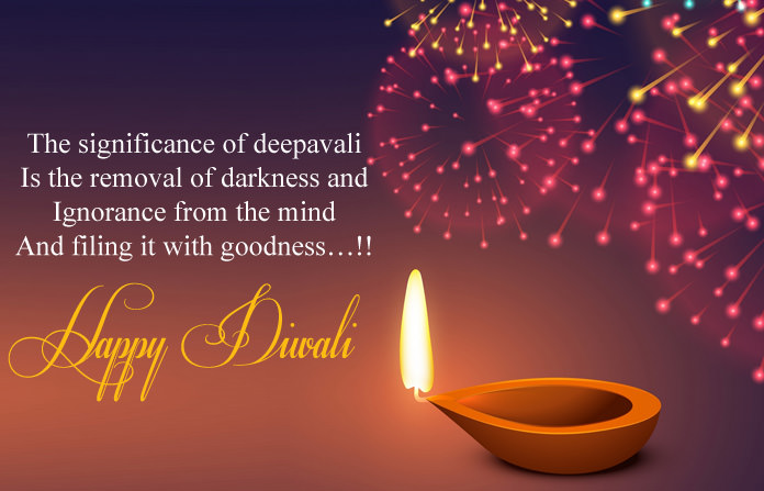 Happy Diwali Hd Wallpaper With Quotes Happy Diwali 2018 Quotes Shayari Wishes Messages Amp Fb Status