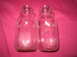 Small Of Vintage Milk Bottles