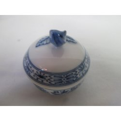 Small Crop Of Blue Rose Pottery