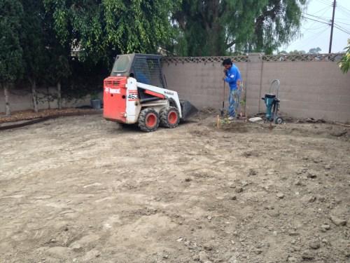 Medium Of Dirt Backyard Makeover