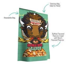 Fabulous Eating Buffalo Stand Up Resealable Bagswhich Are Buffalo Ranch Sur Bag Truly Good Foods Except Far Less Available Ranch Is Like Eating A Buffalo Wing