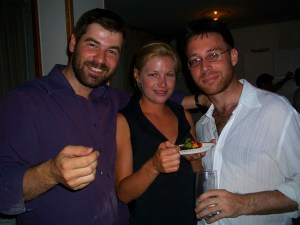 Chris Hondros, Marla Ruzicka and me in Baghdad in 2004. Marla died April 16, 2005 in a car bomb in Baghdad and Chris was killed in Libya on April 20, 2011.