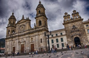 Bogota's main cathedral ©2013 Chris Allbritton