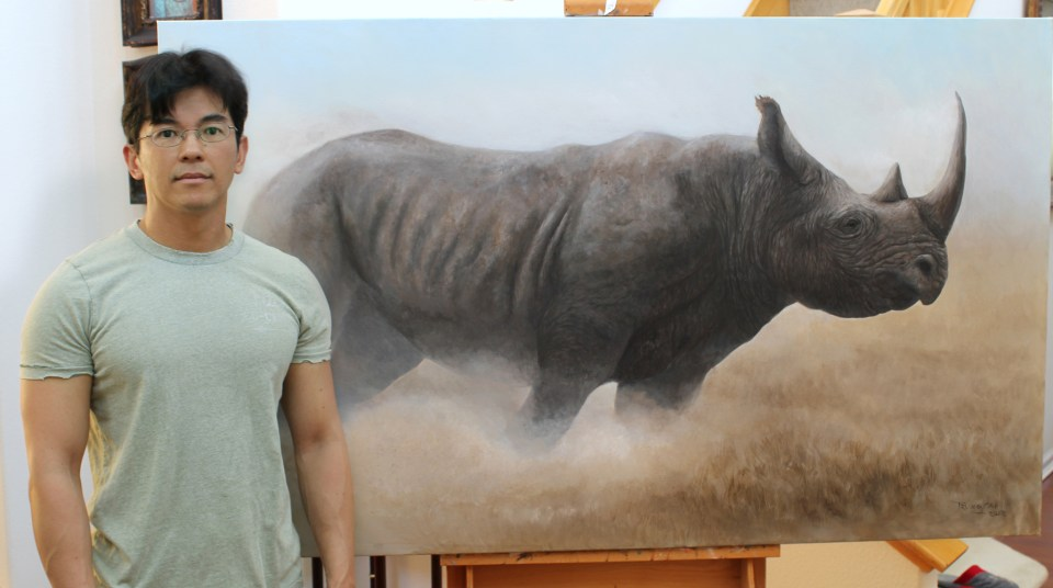 Photo with Unstoppable Black Rhino