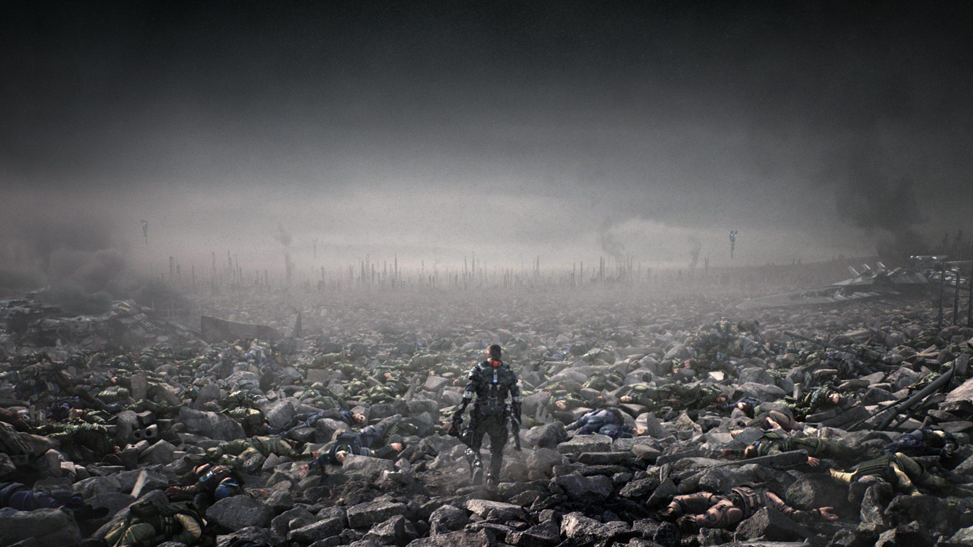 Killzone Shadow Fall Ps4 Wallpaper Trust Mpc Ny Brings Warzone To Life For Ps4 S Killzone