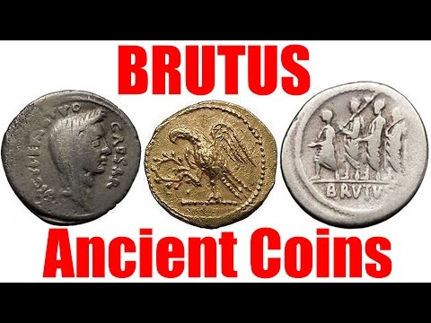 BRUTUS the Infamous Assassin of JULIUS CAESAR Ancient Roman Coins Collecting Guide and Collection