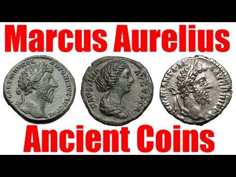 MARCUS AURELIUS 161-180AD Ancient Roman Emperor COIN COLLECTING GUIDE
