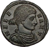 St. Helena Mother of Constantine the Great Certified Authentic Ancient Roman Coins for Sale
